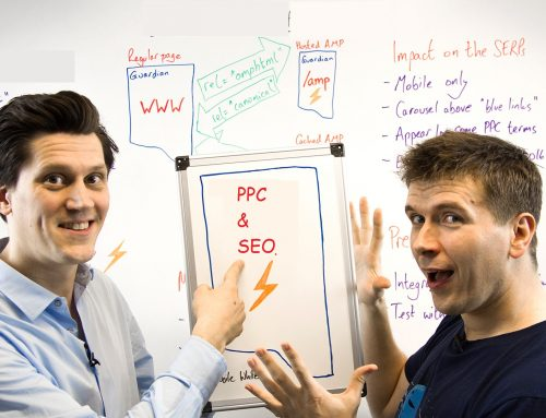 How should PPC and SEO work together to gain visibility?