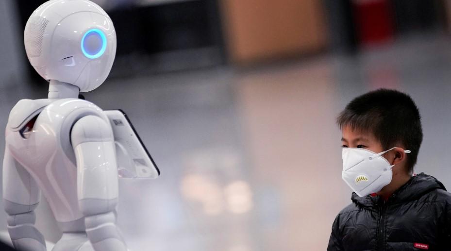 robots china coronavirus